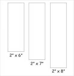 free bookmark template free worksheets 187 rectangle template printable free math