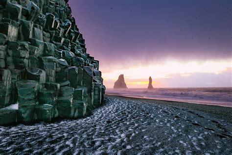 black sand 3 5 reynisfjara black sand beach is a must see in iceland