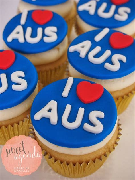 Cupcake Heaven In Australia by The 27 Best Images About Australia Day Cupcakes On