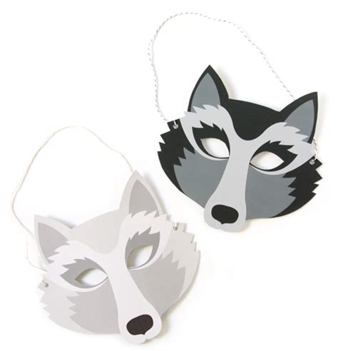 wolf mask template z 252 search masks and diy and crafts