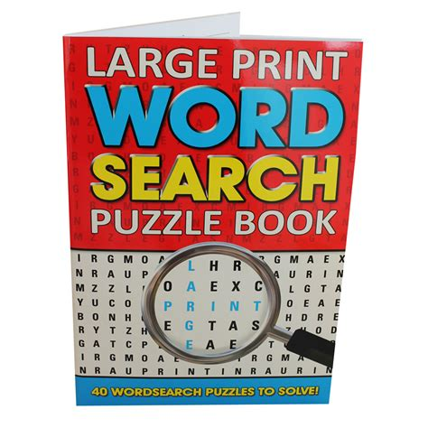 large books large print word search puzzle book by alligator books ltd