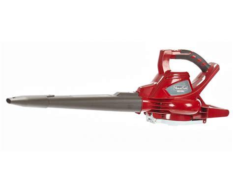 vacuum blower mountfield mbv48li cordless blower vacuum garden