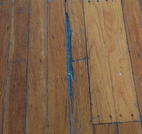 How to fill holes in Hardwood Floor, Large, Medium, and