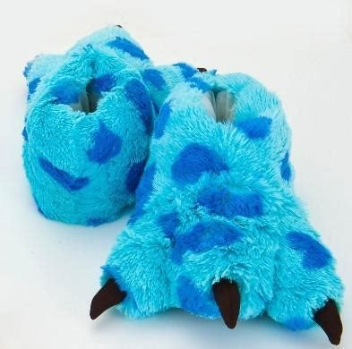 sully slippers monsters inc sully slippers on the hunt