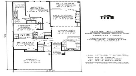 one story lake house plans modern one story house one story narrow house plans