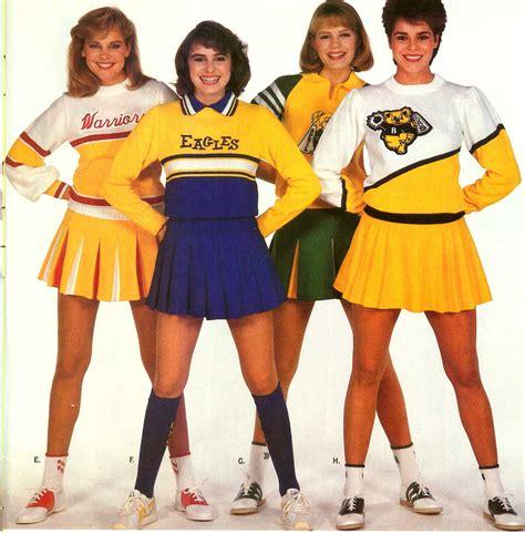 1980 cheer hair styles 1980s cheerleader uniform saddle shoe habitat s most