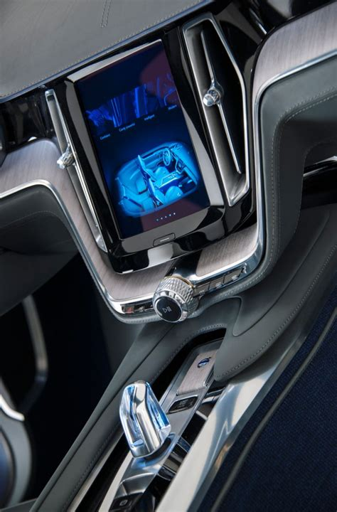 volvo concept coupe 2013 interior volvo concept coupe signals new design direction car