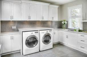 Laundry Room Cabinets For Sale Sleek Home In Oakville 1206 Contemporary Laundry Room Toronto By Braam S Custom Cabinets