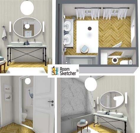 Bathroom Design Planner 3d Plan Your Bathroom Design Ideas With Roomsketcher