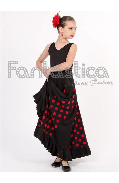 www vergudos negros y ninas vestido de flamenca sevillana para ni 241 a y mujer color