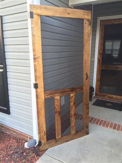wooden screen door ideas  pinterest pallet
