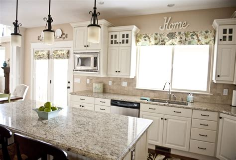 kitchen colors for white cabinets sita montgomery interiors my home tour kitchen
