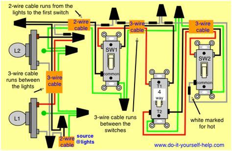 wiring diagrams  multiple lights