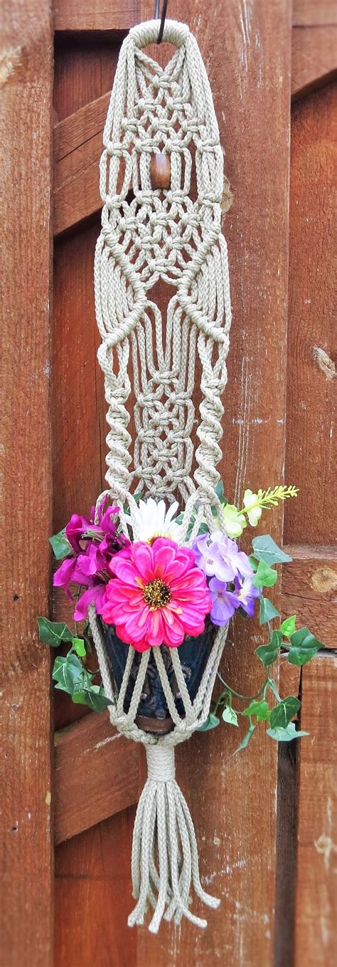 Macrame Hanging Planter Patterns - 215 best images about macrame wedding on