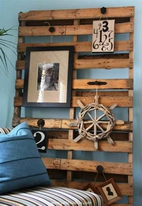 home decor made from pallets diy upcycled pallet wall decoration recycled things