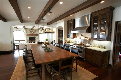 windsor smith kitchen exposed beams ceiling mediterranean dining room