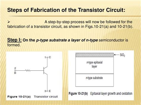 steps in fabrication of integrated circuits ppt chapter10 fundamentals of integrated circuit fabrication powerpoint presentation id 1378697
