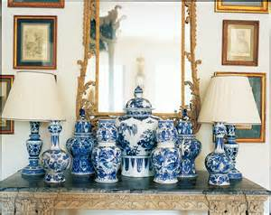 Blue And White Home Decor by A Passion For Blue And White Carolyne Roehm