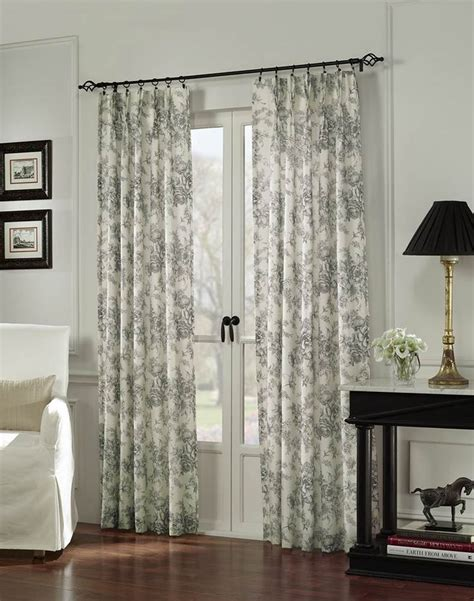 drapes over french doors 15 brilliant french door window treatments