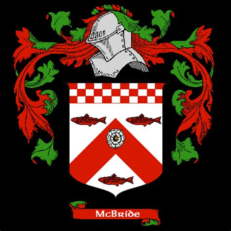 mcbride coat of arms family crest gif gif by mcvaulter