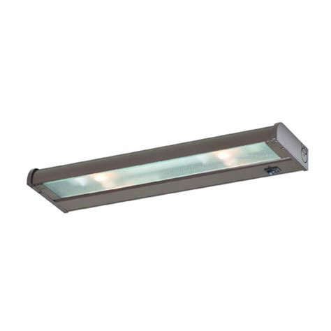 counter attack under cabinet lights counter attack bronze 16 inch two light xenon under