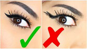 easy hacks 9 easy eyeliner hacks for winged eyeliner