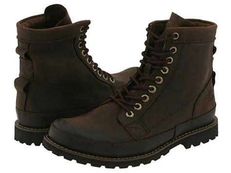 timberland earthkeepers rugged original leather 6 boot timberland earthkeepers 174 rugged original leather 6 quot boot brown zappos free shipping