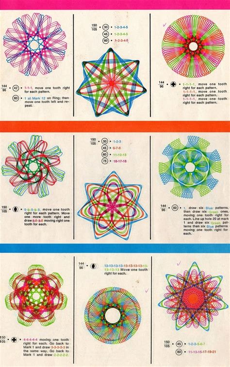spirograph pattern booklet 1000 images about mathematics on pinterest