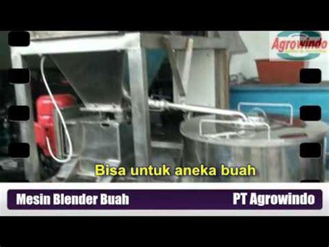 Mesin Blender Buah Industri mesin blender penghancur buah untuk industri 100 kg