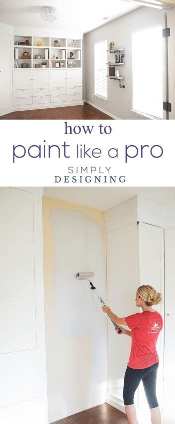 how to paint a room professionally how to paint your room like a pro