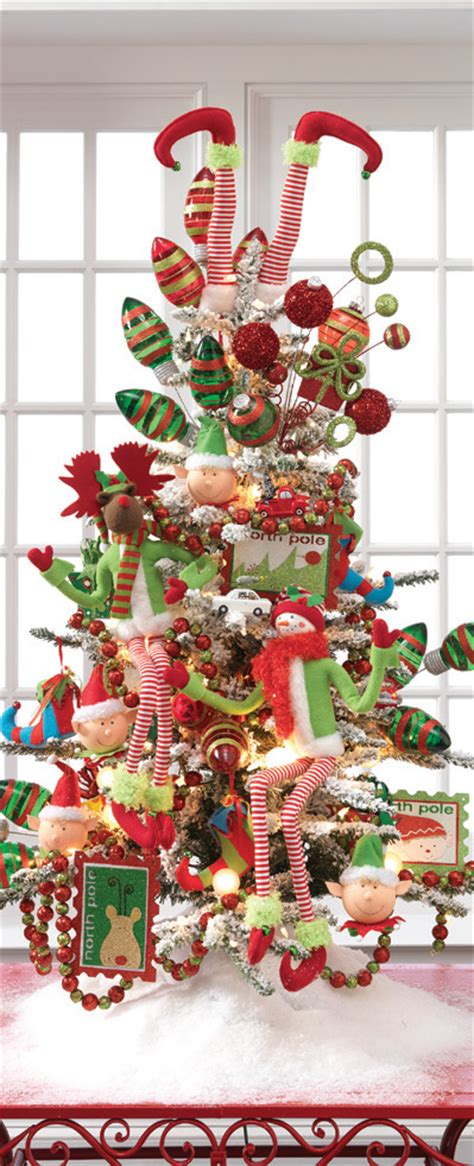 2013 raz postmark christmas decorated trees trendy tree blog