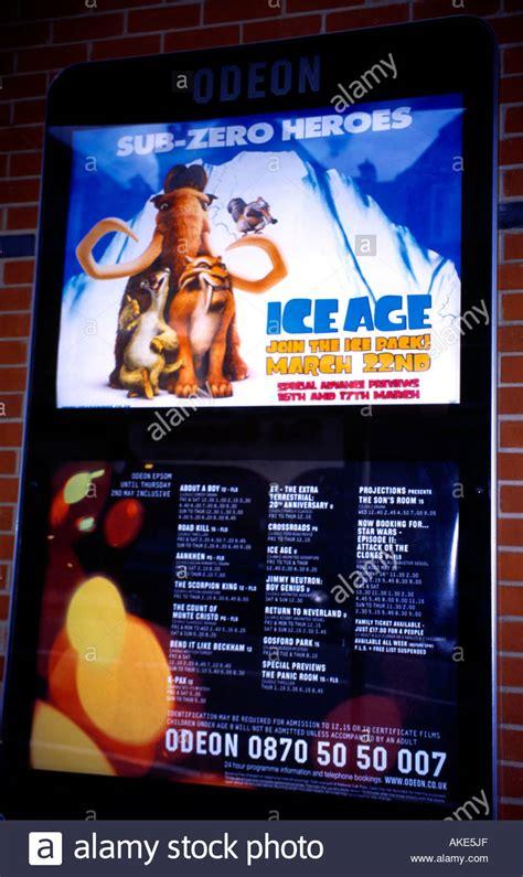 film horror uci cinema odeon cinema ice age film poster film times epsom surrey