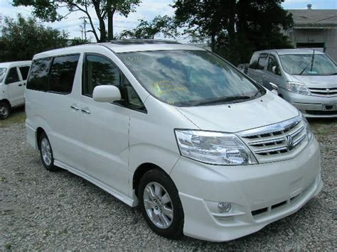 2005 Toyota Alphard 2005 Toyota Alphard Pictures 2 4l Gasoline Automatic