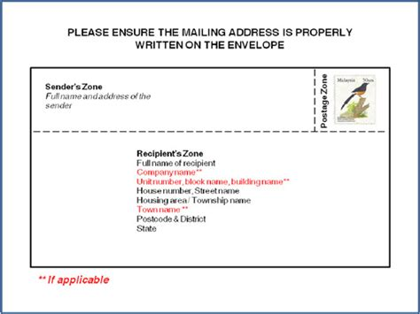 letter address format malaysia 28 images simple pos malaysia
