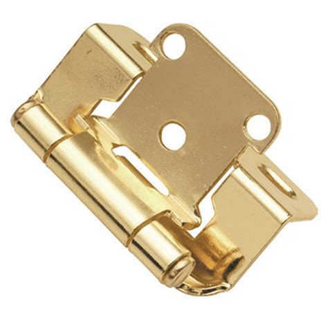 hickory hardware semi concealed part wrap cabinet hinge