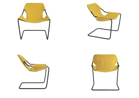 paulistano armchair black white yellow paulistano armchair