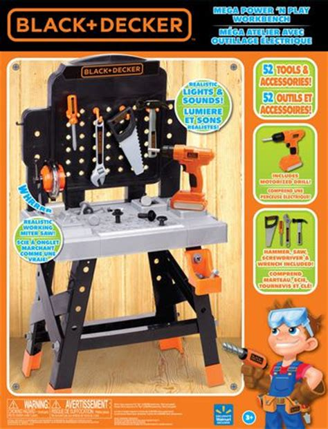 black and decker play tool bench black and decker play tool bench 28 images smoby black and decker ultimate bricolo