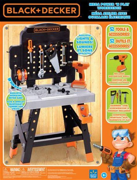 black and decker play tool bench black decker mega power n play workbench playset