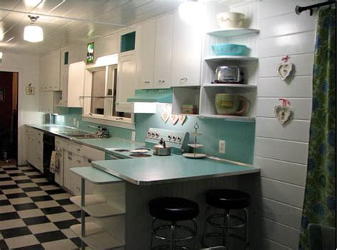 50s Kitchen Cabinets by Create A Large Fabulous Retro Kitchen And Breakfast Room