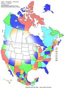 clickable map of usa canada and mexico