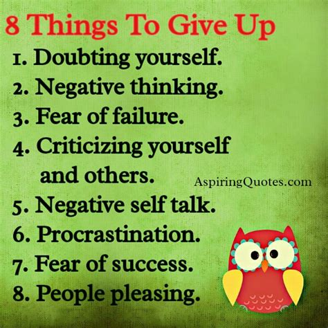 8 Things About You Do Not by Don T Give Up Aspiring Quotes