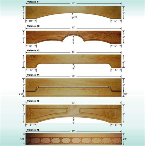 Window Wood Valances Natively In The Day A Wooden