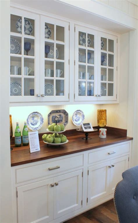 built in kitchen cabinet southern living idea house breakfast area built in cabinet