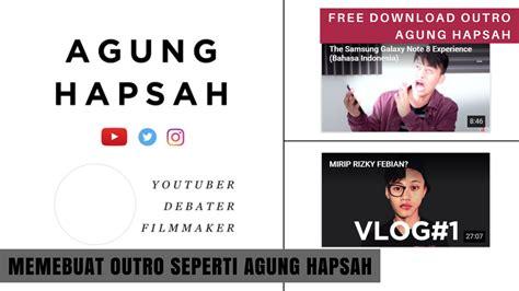 tutorial membuat opening video dengan adobe premiere cara membuat outro seperti agung hapsah di adobe premiere
