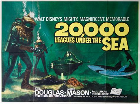 20000 leagues under the b00b606cn2 20 000 leagues under the sea vintage movie posters