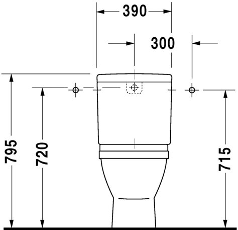 Afmetingen Staand Toilet by Starck 3 Staand Toilet 012601 Duravit