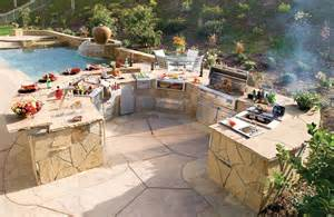 custom alfresco stone barbecue island and grilling equipment galaxy outdoor
