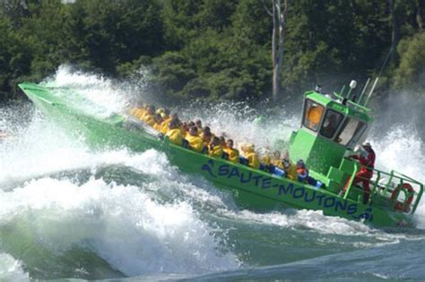 lachine rapids jet boat saute moutons lachine rapids jet boat tours boat tour