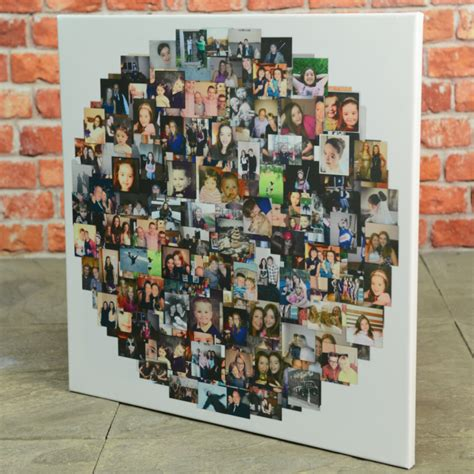 create canvas collage shape collage prints