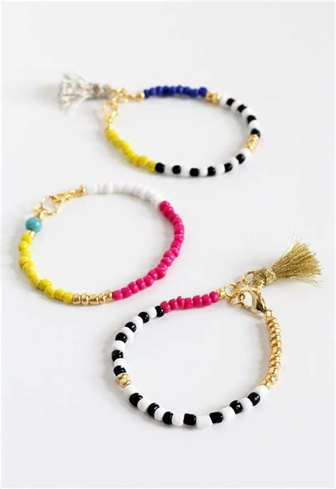 beaded charm bracelets 18 fancy diy beaded charm bracelet tutorials diy to make